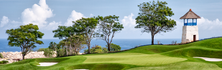 Bali's newest golf course looks simply amazing!
